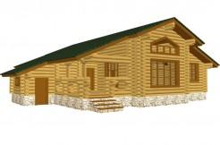 Деревянный дом для круглогодичного проживания