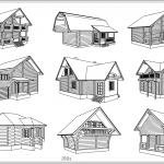 Проектирование домови бань из бревна