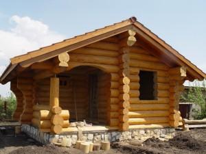 Проектирование домов и бань из бревна ручной рубки
