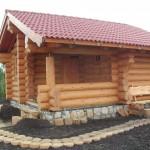 Проектирование домов и бань из бревна ручной рубки фото