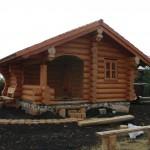 Проектирование домов и бань из бревна фото
