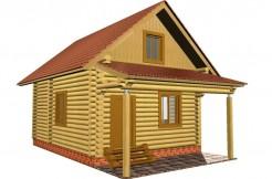 Не большой дачный домик