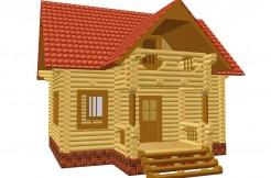 Небольшой, но уютный дом