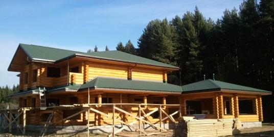 001 Строительство дома из бревна