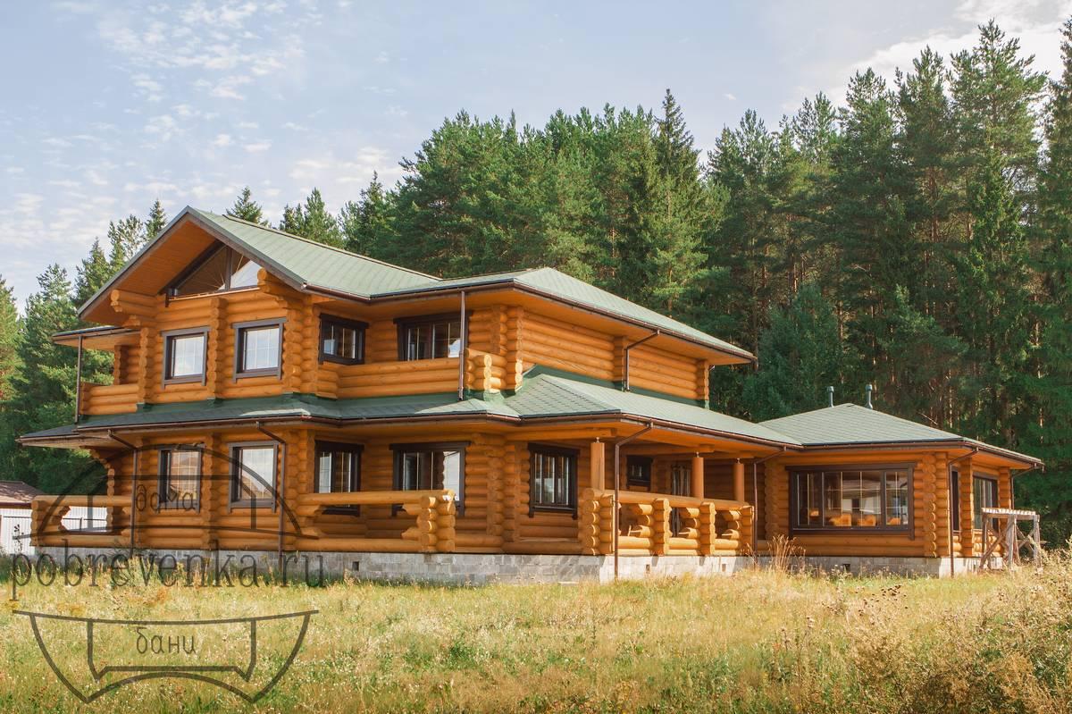 Дом из бревна 300мм