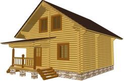 Деревянный дом 7 на 8 м